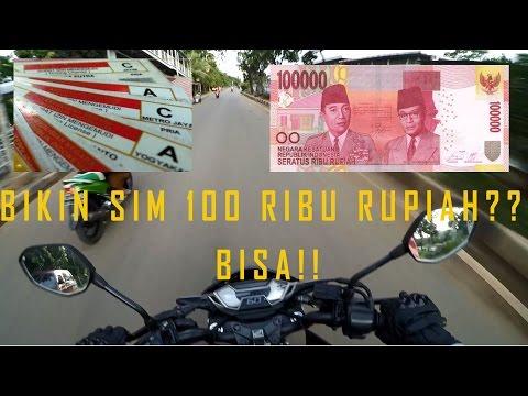 Trik Buat SIM C 100 RIbu? (2018)