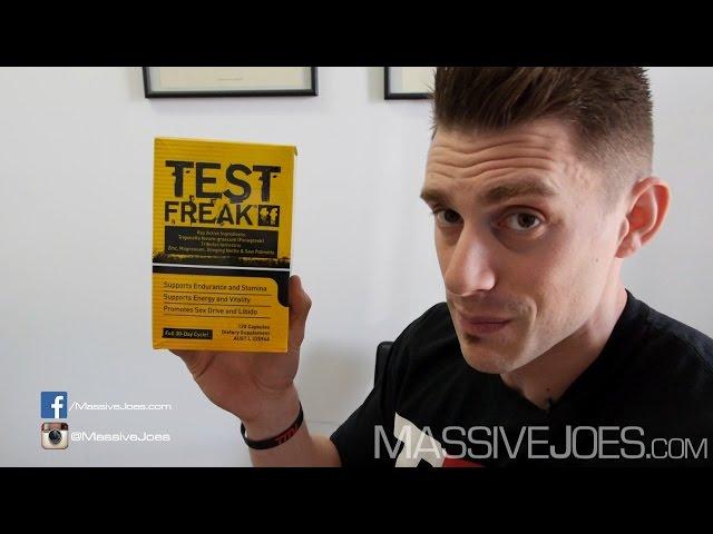 Pharma Freak Test Freak Supplement Review - MassiveJoes.com RAW Review PharmaFreak