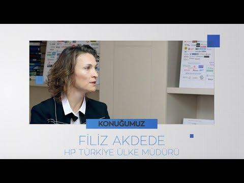 Dijital CEO ile Teknoloji Sohbetleri - Filiz Akdede / HP Türkiye Ülke Müdürü