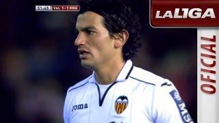 Gol de Tino Costa (1-1) en el Valencia CF - Real Madrid - HD