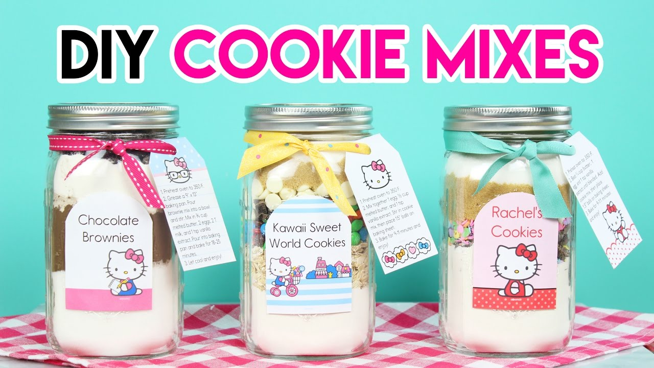 Disney Cookie Jar Etsy >> How To Make Diy Hello Kitty Cookie Mixes
