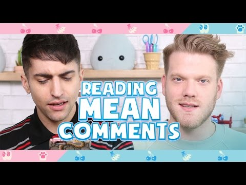 READING MEAN COMMENTS!