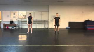 Brandon Chang & Cristina Moya-Palacios taking Travis Wall's class