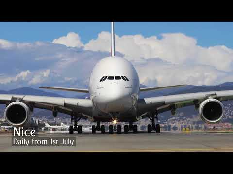 Emirates A380 lands in 10 new cities in 2017 | Airbus A380 | Emirates Airline