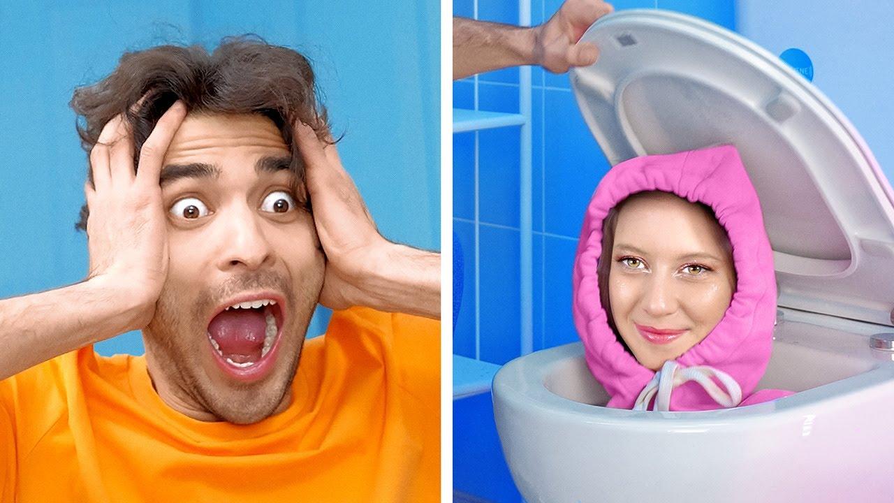 Веселые пранки, которые стоит попробовать - Парни VS Девушки