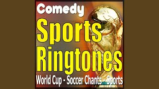 Brazil soccer chant, ringtone, alarm, message, World cup