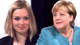 Mein Interview mit Angela Merkel zu den Themen Bildung und soziale ...