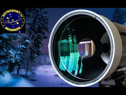 How to dry out your telescope from dew and ice