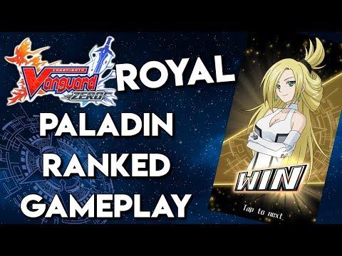 Vanguard Zero Ranked - Royal Paladin Feature
