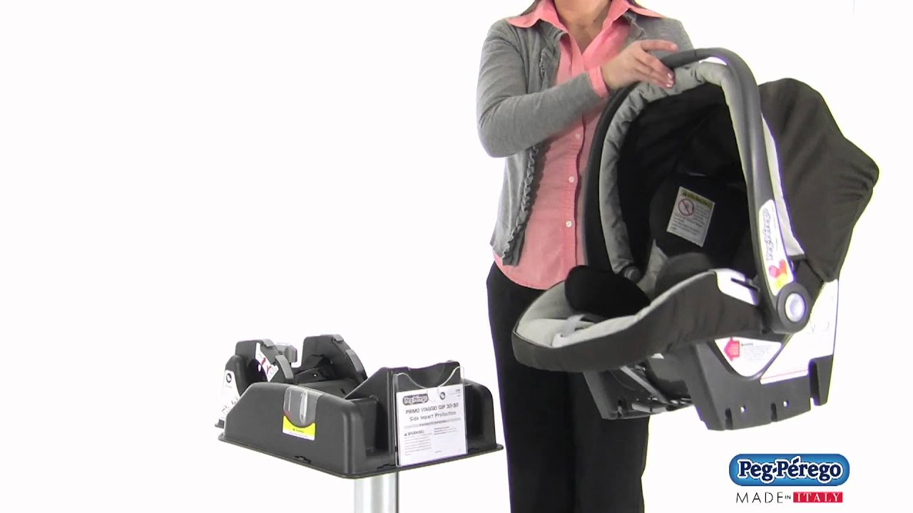 How To Remove Car Seat From Base Peg Perego