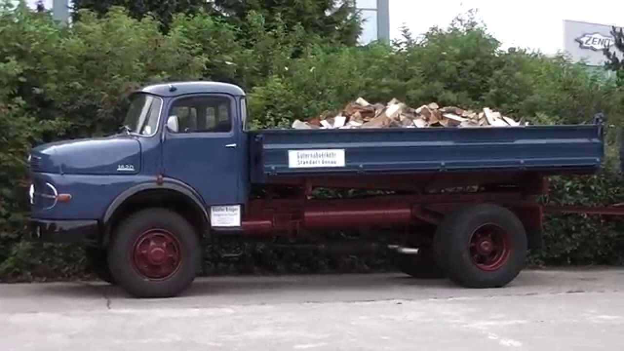 Old mercedes benz 1620 beautiful truck in hd youtube for Old mercedes benz trucks