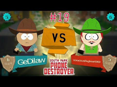 PvP Series [Part 5] 🎮 SOUTH PARK: PHONE DESTROYER -Ep7- The Holy Road #19