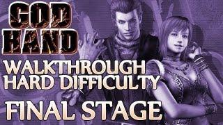 vuclip Ⓦ God Hand Walkthrough ▪ Hard Mode - Final Stage ▪ Azel/Devil Hand 2 & Angra Boss Fights