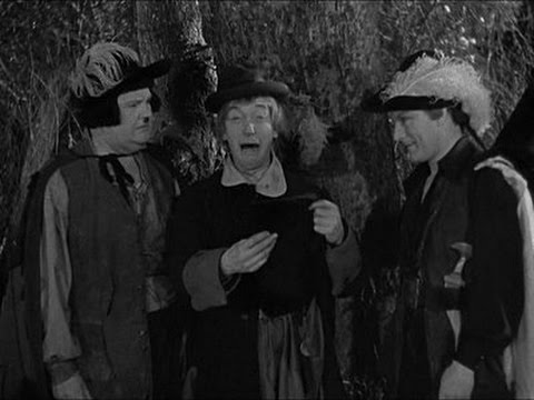 Laurel & Hardy - The hanging scene from Fra Diavolo (The Devil's Brother)