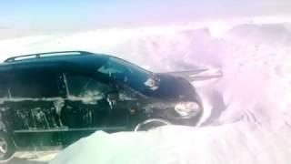 Такого снегопада на трассе в нашей стране еще не было