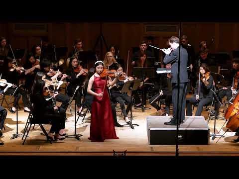 MinJi Kim plays Brahms violin concerto