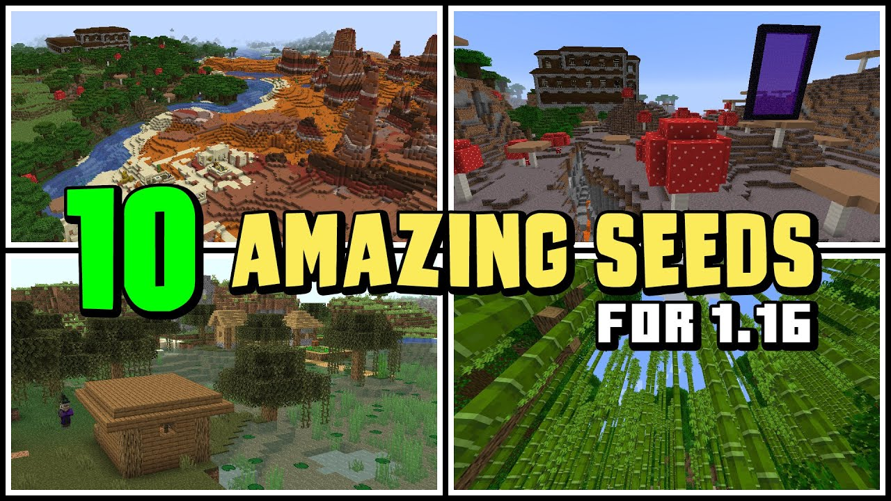 TOP 8 BEST NEW SEEDS for Minecraft 8.86 Nether Update! FULLY 8.86 TESTED!