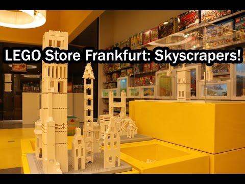 LEGO Store in Frankfurt - MyZeil Mall: Skyscrapers! - YouTube