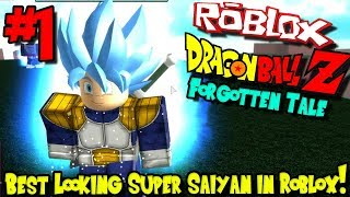 BEST LOOKING SUPER SAIYAN IN ROBLOX?!? | Roblox: Dragon Ball Forgotten Tale (Remastered) - Episode 1