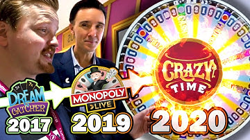 CRAZY TIME - Exclusive Look Into The New Game Show From Evolution Gaming 😱 | Vlog 48