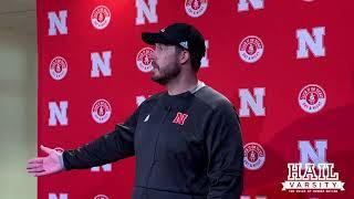 Nebraska Football: Erik Chinander Talks Huskers Scrimmage, Defensive Backs and More