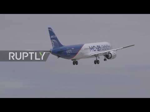 Russia: New passenger aircraft MS-21-300 completes successful maiden flight