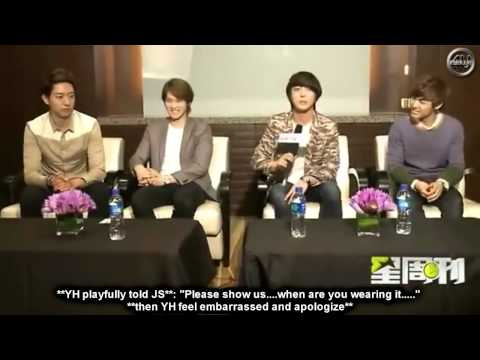[ENGSUB] CNBLUE for PPTV Interview in Beijing