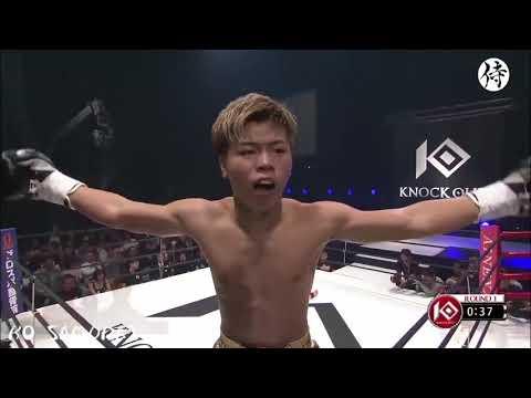 【Rizin・キックボクシング】神童 那須川天心 壮絶KOシーン!!【圧倒的】