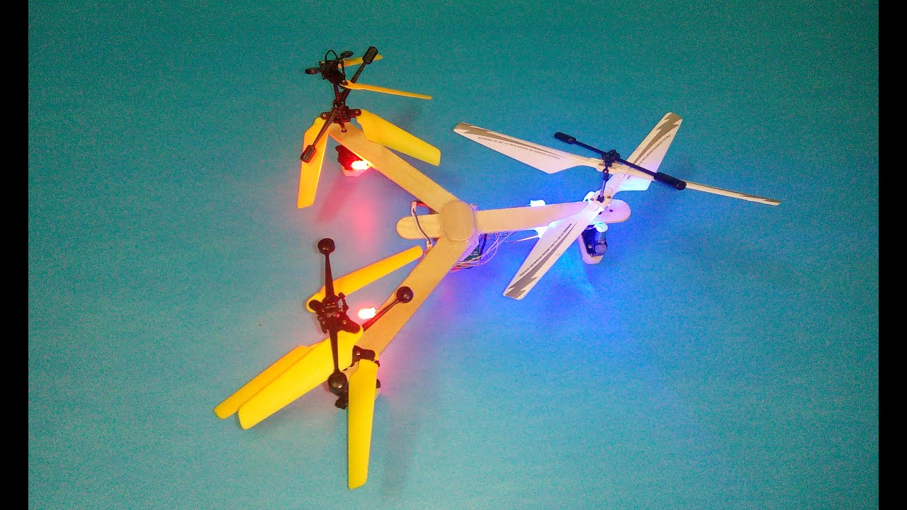 how to make a tricopter at home