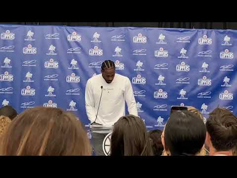 Video: Clippers' Kawhi Leonard says being able to give back is 'why I'm so happy to be back home'