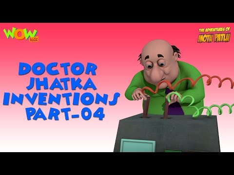 Doctor Jhatka's invention - Motu Patlu Compilation - Part 4 As seen on Nickelodeon thumbnail