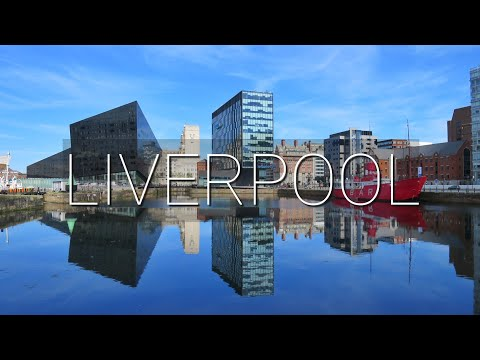 Vlog #10: Liverpool, England || SUNNY DAY AT LIVERPOOL WATERFRONT