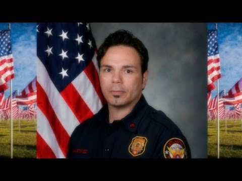 Escort of Atlanta Firefighter Frank Martinez