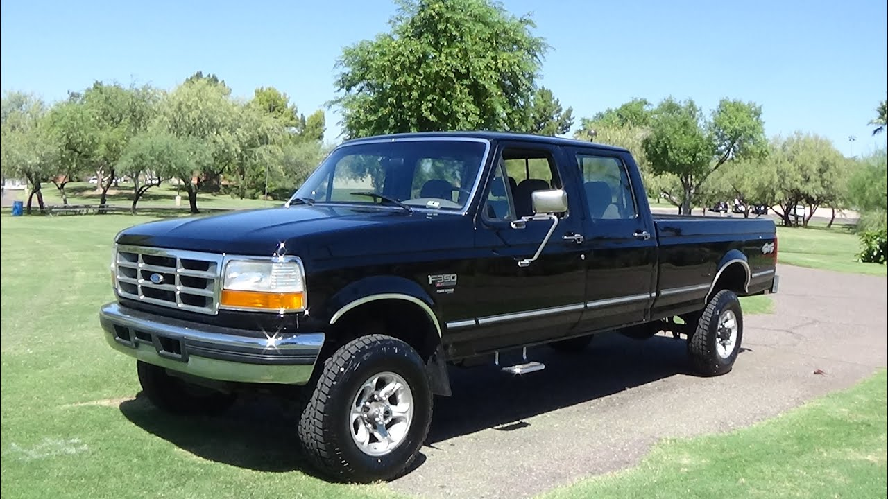 1995 Ford F350  YouTube