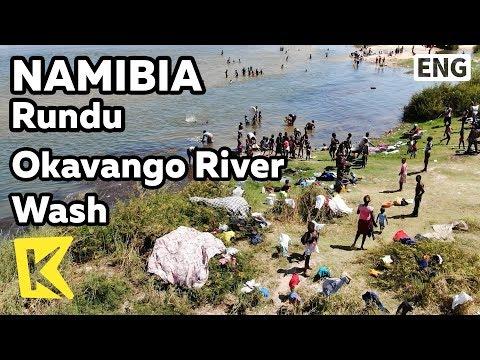 【K】Namibia Travel-Rundu[나미비아 여행-룬두]오카방고강 빨래터/Okavango River/Wash