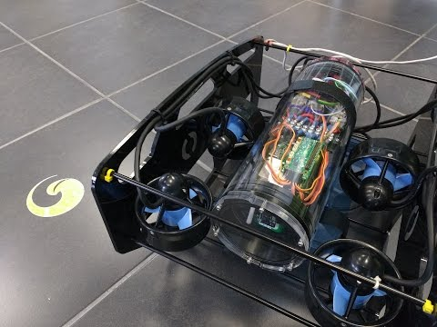 An underwater robot with the PXFmini