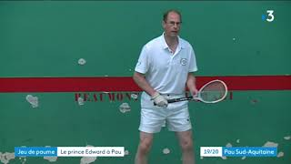 Le prince Edward à Pau
