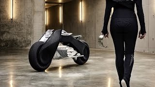 The BMW Motorrad VISION NEXT 100 |  The Awesome Design