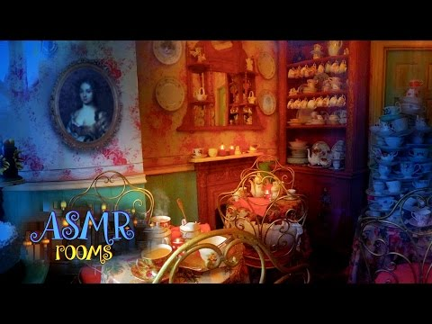 Harry Potter ASMR - Valentine's at Madam Puddifoot's Tea Shop - Hogsmeade cinemagraphs ambience