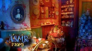 Harry Potter ASMR - Valentine's at Madam Puddifoot's Tea Shop - Hogsmeade cinemagraphs ambience