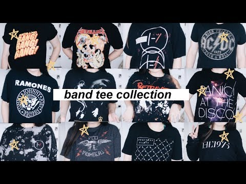 BAND TEE COLLECTION 2017