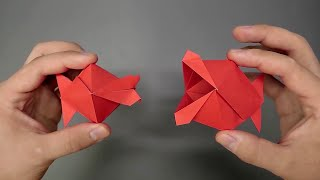 Origami Kissing Fish - H๐w to fold