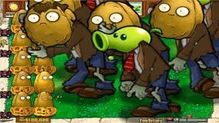 Plants vs Zombies Hack - Minigame Huge Zombie ZomBotany [Part 2]