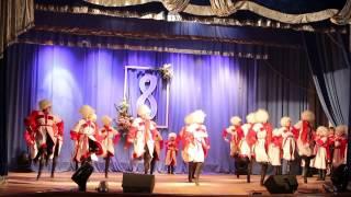 """Грузинский танець """"Джигіти"""". Танцювальний колектив «Посмішка» м. Гайсина"""