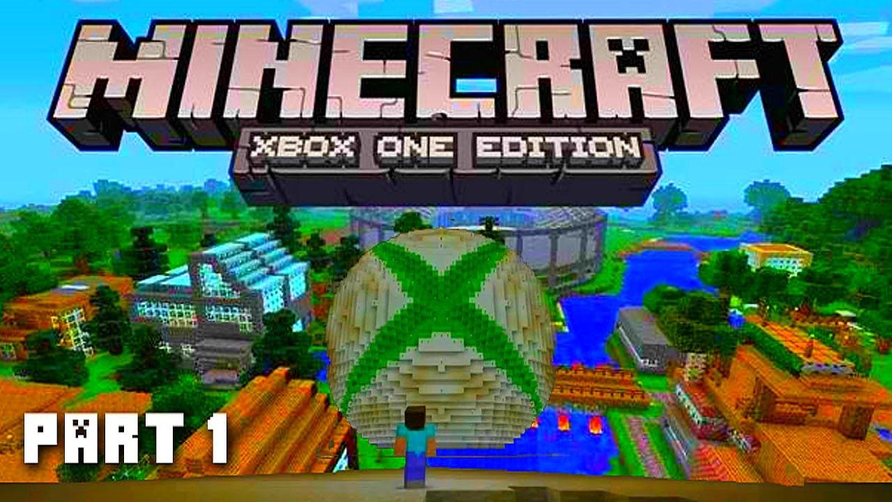 Minecraft XBOX ONE Adventure Part 1 (Next Gen Minecraft