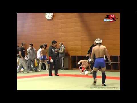 第6回東日本アマチュア修斗OP Fe級2回戦 堀口恭司vs魚井守 Kyoji Horiguchi's MMA debut 2/6