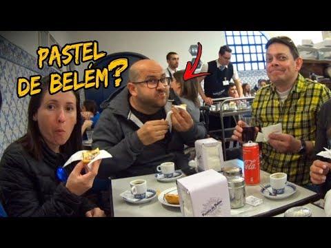 EM PORTUGAL SÓ TEM MELIANTE + O PASTEL DE BELÉM É   Canal Simbora feat Fê Gourmet