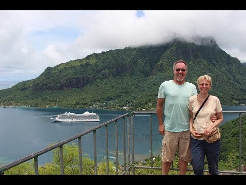 SOUTH PACIFIC POLYNESIAN CRUISE - video highlights HD - January 2018