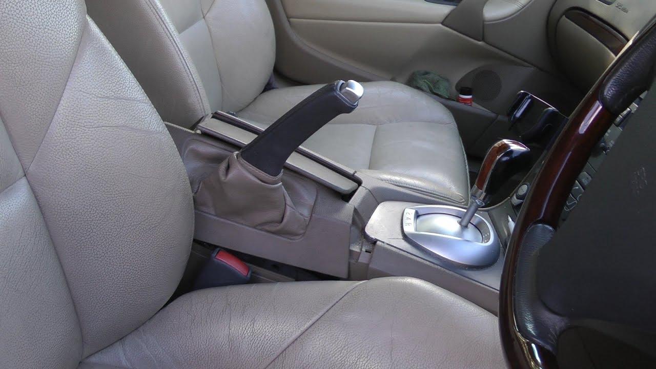 Volvo S60: Parking brake