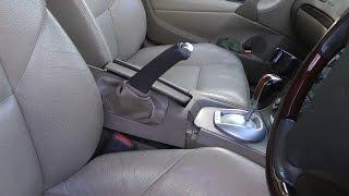 Volvo handbrake height adjustment trick